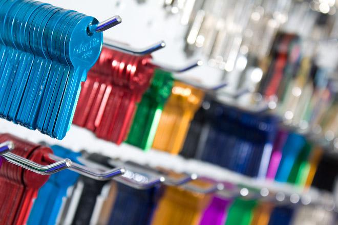 Izdelava Ključev, barvni ključi